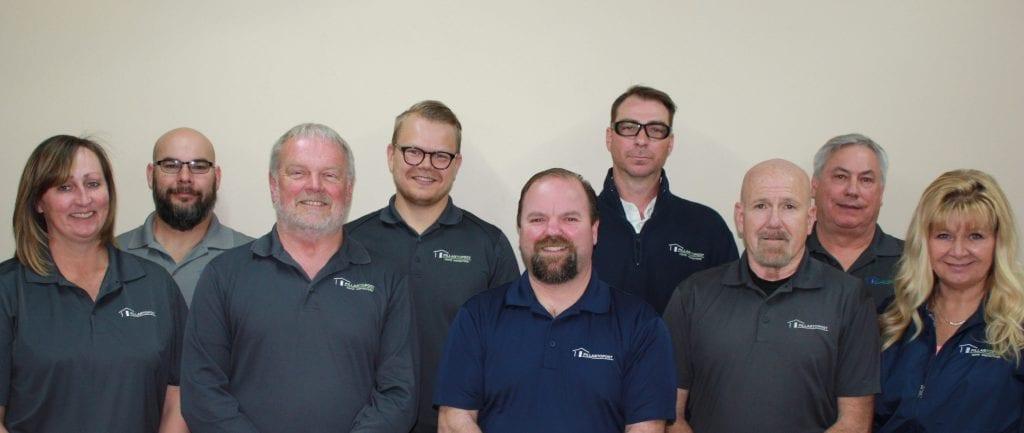 Larsen Home inspection team