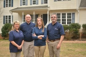 The Scaparo home inspection team