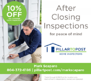 Mark Scaparo home inspection after closing
