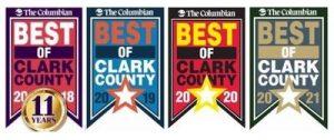Best of Clark County 4 years running