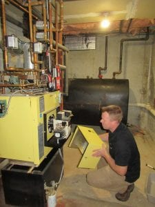 home inspection of components