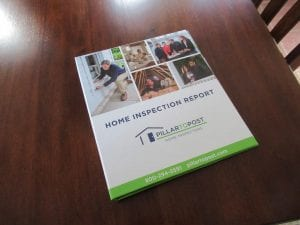 home inspection report book