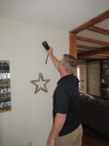 during the home inspection