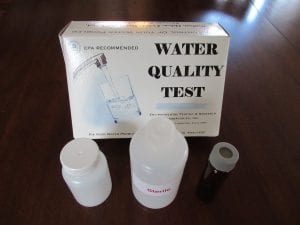 water quality check kit