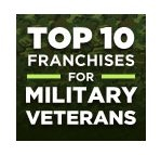 Top 10 Franchises for Military Veterans