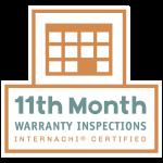 internachi certified 11th month warranty inspections